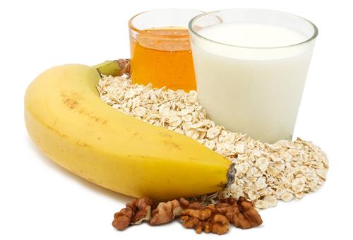 ингредиенты для маски с бананом