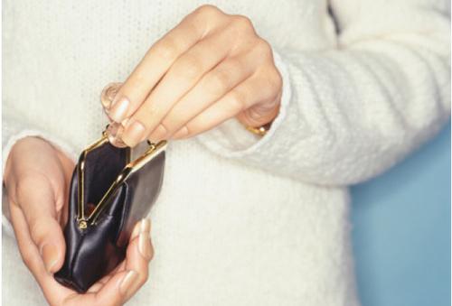 Недостаток денег