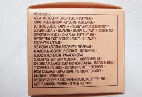 Состав крема
