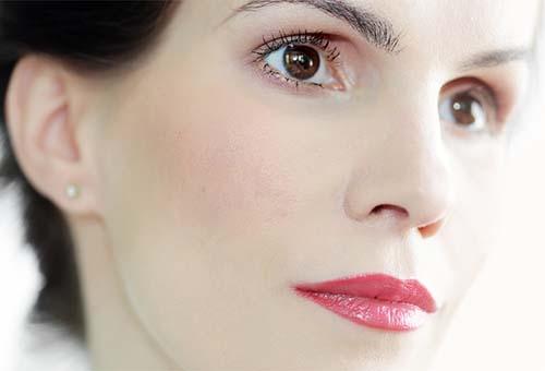Светлая кожа лица