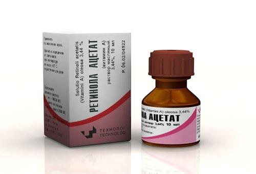 Витамин А на масляной основе