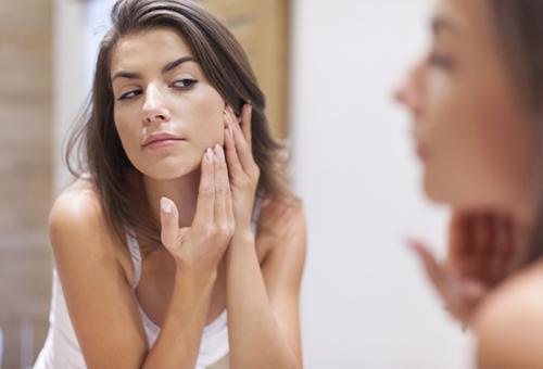 Положительные изменения кожи после применения димексида и солкосерила