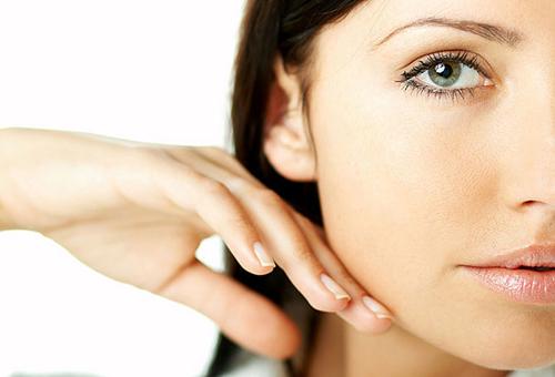 Кожа лица после матирующего крема