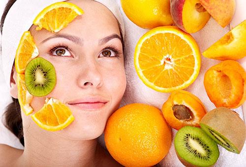 Влияние фруктового пилинга на кожу