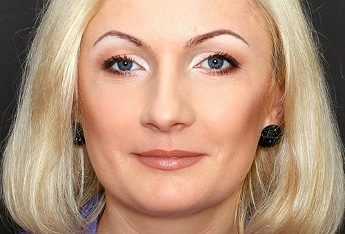 Возможности правильного макияжа после 40