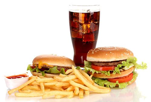 Фастфуд, вредная еда