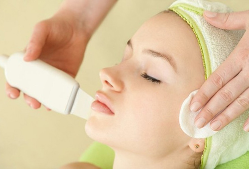 Ультразвуковая чистка в комплексе процедур по уходу за лицом