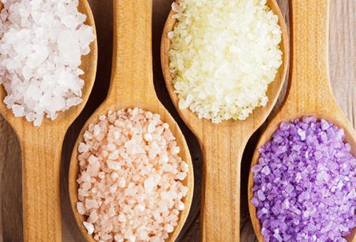 Морская соль разных видов