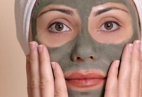 Дегтярная маска для лица