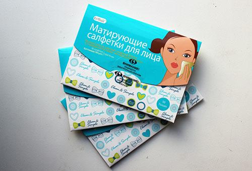 Косметические салфетки для лица