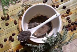 Приготовление кофейного скраба для лица