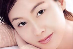 Идеальная кожа лица у женщины