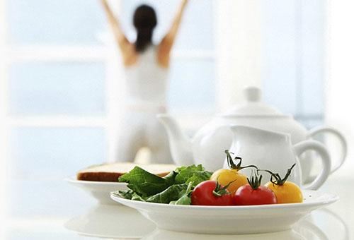 Витаминный салат - правильное питание для женщины