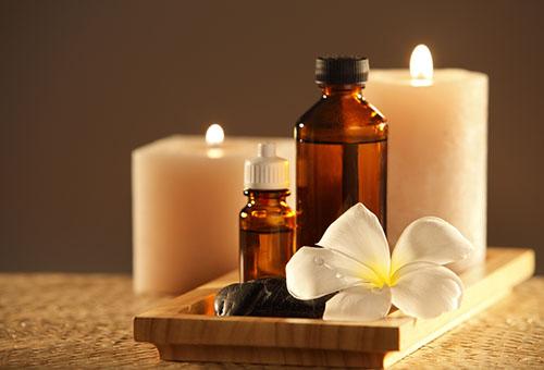 Ароматические масла и свечи