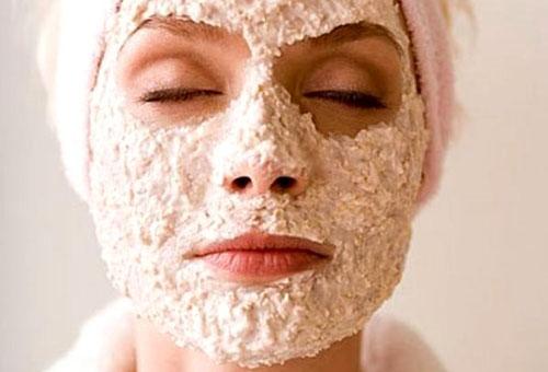 Геркулесовая маска для лица