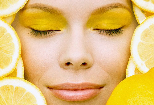 Лимоны для красоты лица