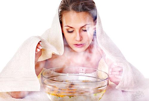 Паровая ванночка с травами для лица