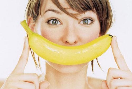 Банан от морщин на лице