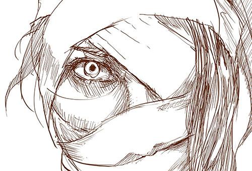 Забинтованное лицо