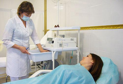 Подготовка к озонотерапии
