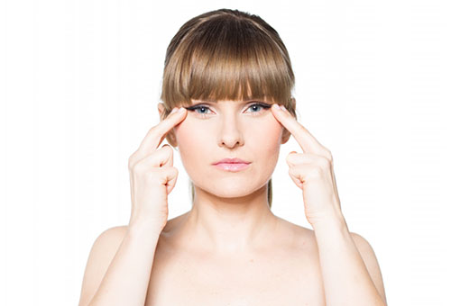 Упражнение от морщин вокруг глаз