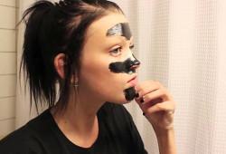 Нанесение маски от черных точек