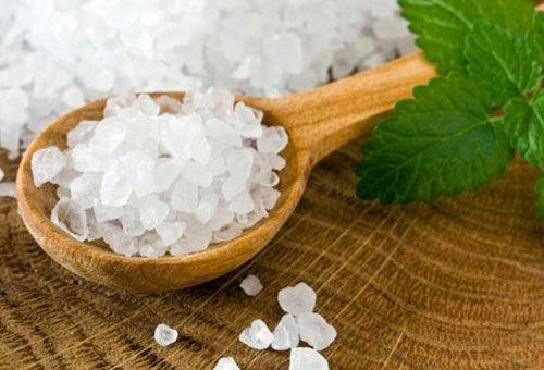 солевой скраб