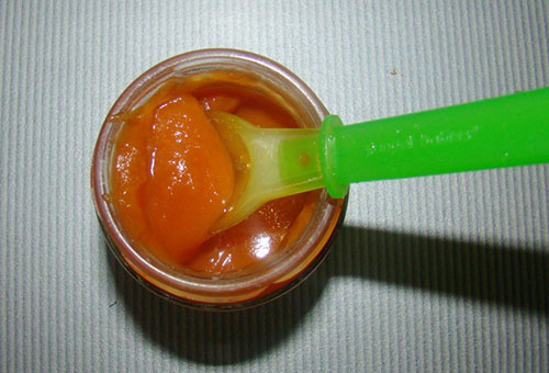 Яблочно-морковное пюре