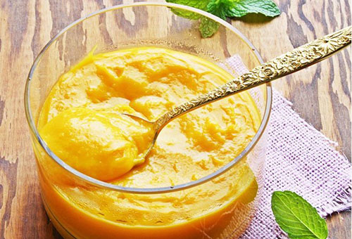 Маска из сметаны и манго