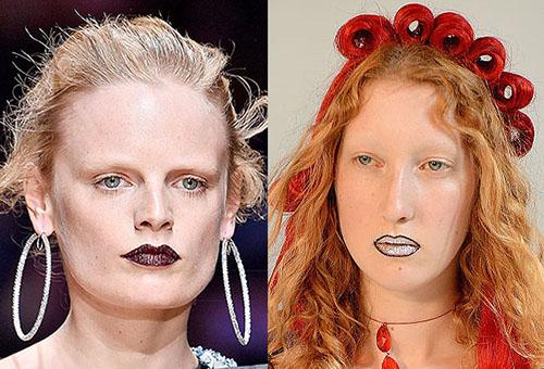Ошибки в макияже губ