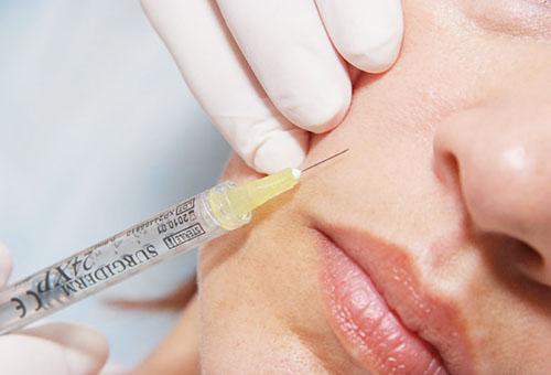 Омоложение кожи с помощью инъекций