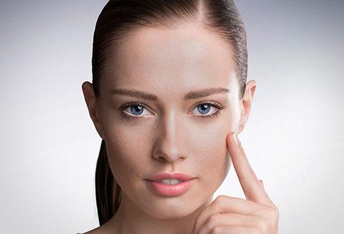 Здоровая молодая кожа лица